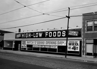 high low store 7008 s halsted opened 10:4:50 bruce gaddey