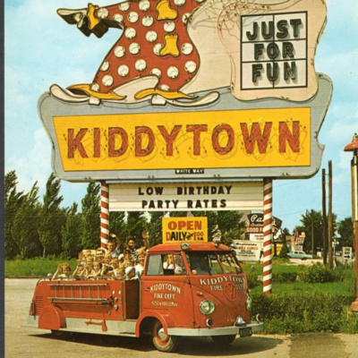 Episode 68: Jewel Grand Bazaar, John T. Shayne Clothing Store, Kiddytown Amusement Park, and Chicago Police Officer Leonard Baldy.