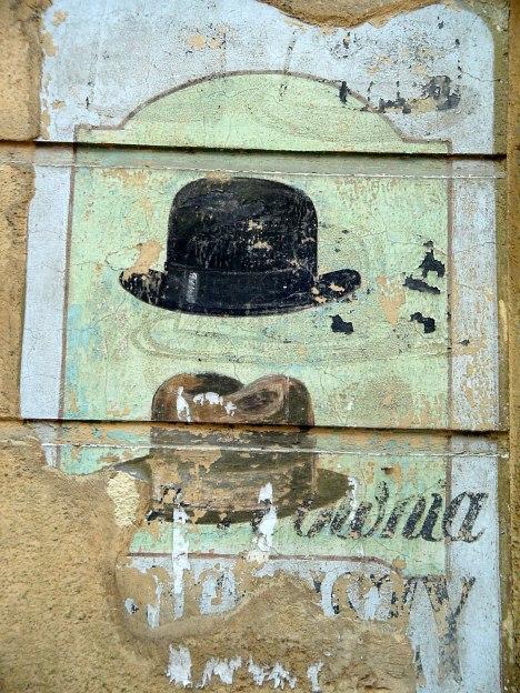 Lviv: old store advertising