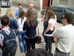 Berezhani - tour with the students from the local orphanage