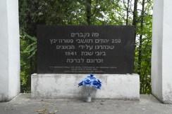 Mass grave in Storozhynets
