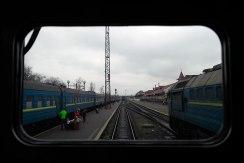 Train ride through Galicia