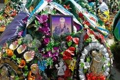 Lviv, Lychakiv cemetery, soldiers graves