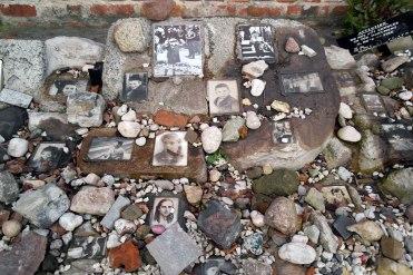 Jewish cemetery at Okopowa Street - memorial for murdered children