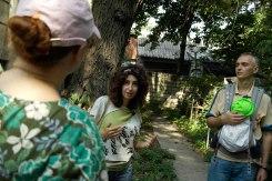 Chişinău Jewish cemetery - Irina Shikhova guiding