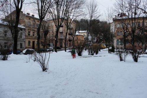 Old Market - once Lviv's reform synagogue stood here