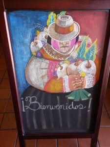 Peruvian chalk