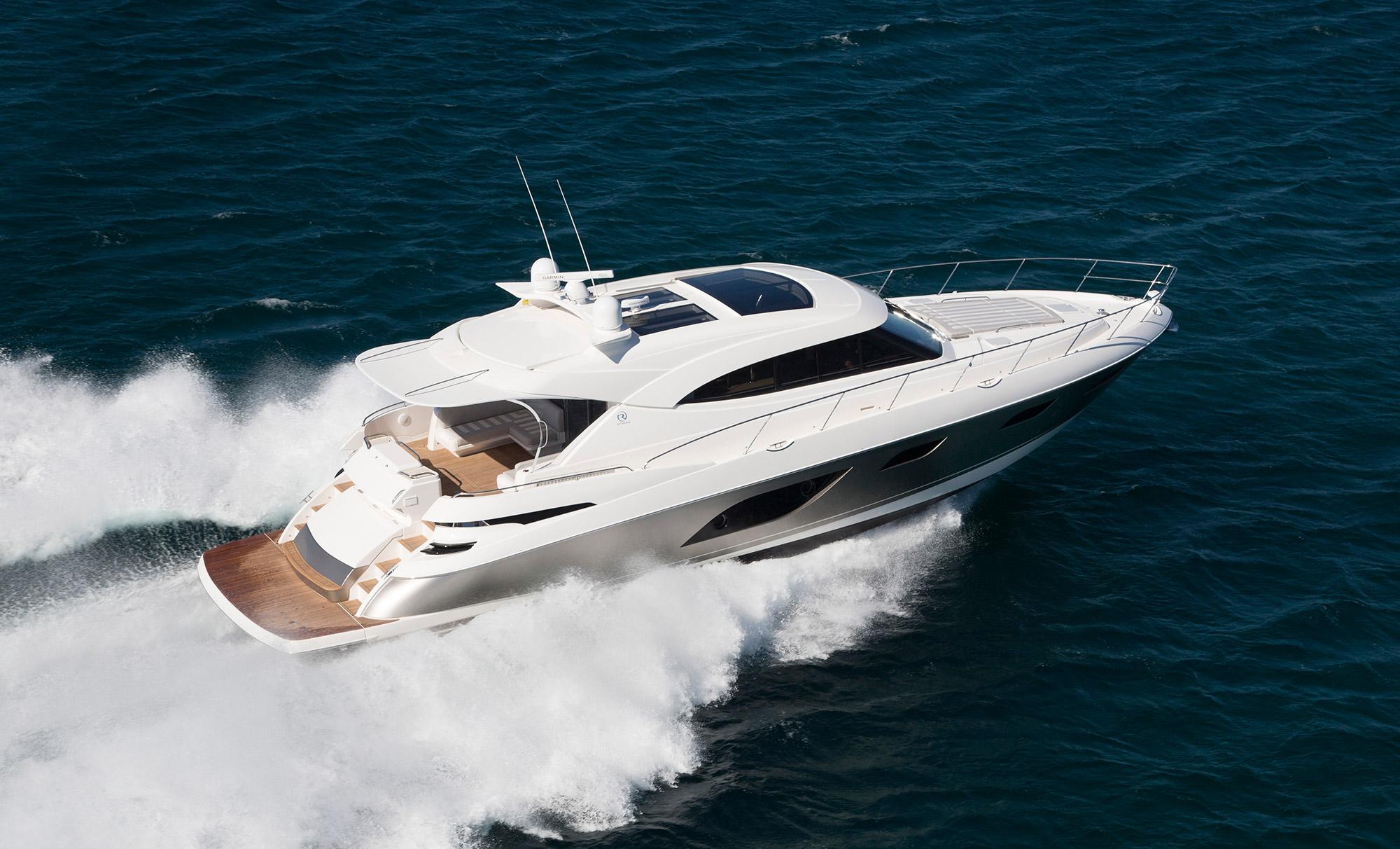 Rivieras New 6000 Sport Yacht Van Isle Marina