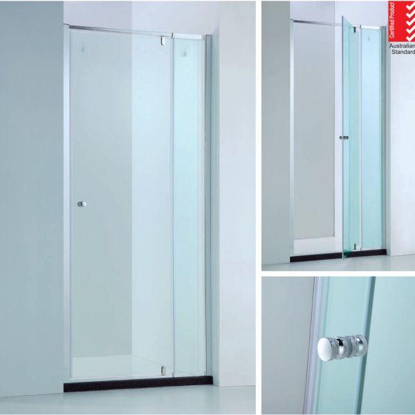 850-980mm-Adjustable-Wall-to-Wall-Semi-Frameless-Pivot-Glass-Panel-Shower-Screen-252600636960