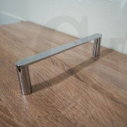 NEW-Round-CHROME-300mm-Small-Hand-Towel-Holder-Rail-Bar-304-Stainless-Steel-252960294681-6