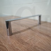 NEW-Round-CHROME-300mm-Small-Hand-Towel-Holder-Rail-Bar-304-Stainless-Steel-252960294681-7