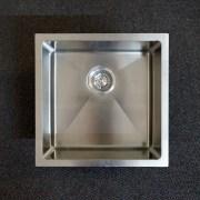 450mm-Square-Handmade-304-Grade-Stainless-Steel-Single-Bowl-LaundryKitchen-Sink-253206094302-5