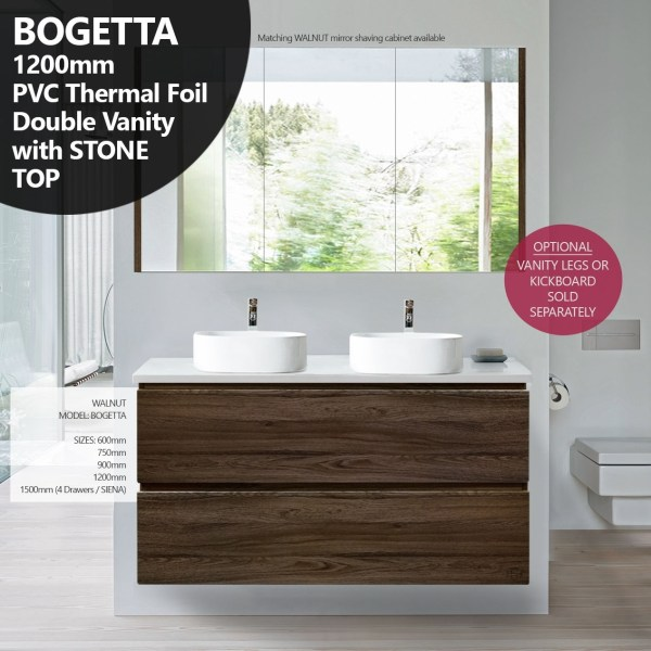 BOGETTA-1200mm-Walnut-Oak-PVC-THERMAL-FOIL-Wood-Grain-Double-Vanity-w-Stone-Top-252958578912