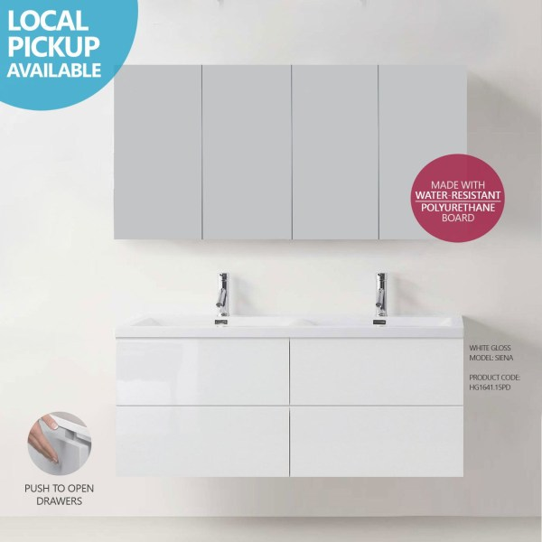 SIENA-1500mm-White-Polyurethane-Wall-Hung-Bathroom-Vanity-w-PushTouch-Drawers-252554645452