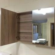 Variation-of-900mm-Timber-Oak-or-Black-Wood-Grain-Wall-Hung-Mirror-ShavingMedicine-Cabinet-252523595362-1024
