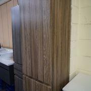1680mm-White-Oak-Timber-Wood-Grain-Bathroom-Tallboy-Side-Cabinet-w-Glass-Shelves-252942799223-5