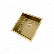 450mm-Square-LIGHT-GOLD-304-Stainless-Steel-LaundryKitchen-Sink-Premium-PVD-253206077023-3