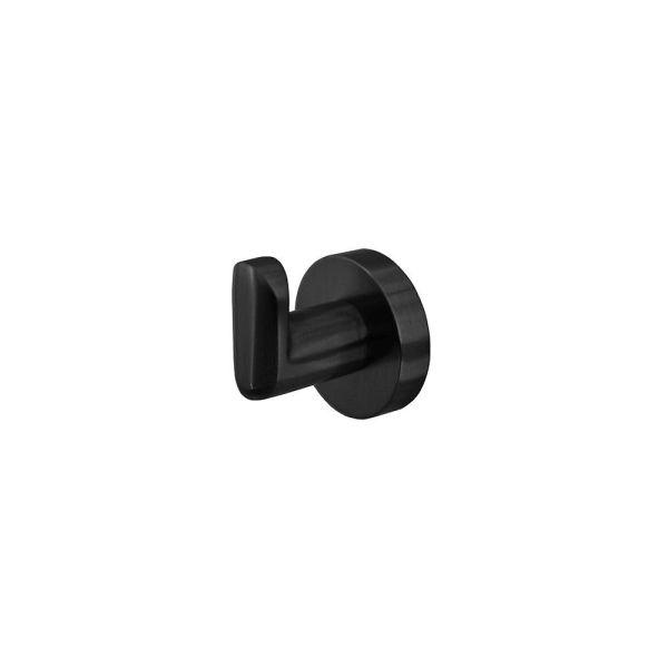 EVA-RoundOval-MATTE-BLACK-Wall-RobeTowel-HookHanger-Premium-Electroplated-253424227073