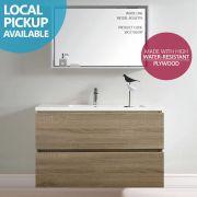 BOGETTA-900mm-PLYWOOD-White-Oak-Textured-Timber-Wood-Grain-Bathroom-Vanity-252713481224