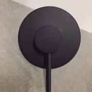 FOSCA-Round-MATTE-BLACK-Lollipop-Pin-Lever-Wall-Mount-ShowerBath-Mixer-252846607554-5