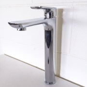 Polished-Chrome-Tall-High-Rise-Bathroom-Basin-Sink-Mixer-TapSolid-BrassCeramic-252537167434-4