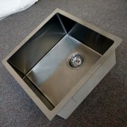450mm-Square-GUN-METAL-GRAY-Premium-PVD-304-Stainless-Steel-LaundryKitchen-Sink-253205928475-9
