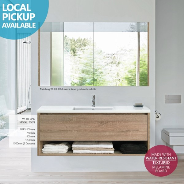 EDEN-1200mm-White-Oak-Textured-Timber-Wood-Grain-Wall-Hung-Vanity-w-Towel-Shelf-252736513115