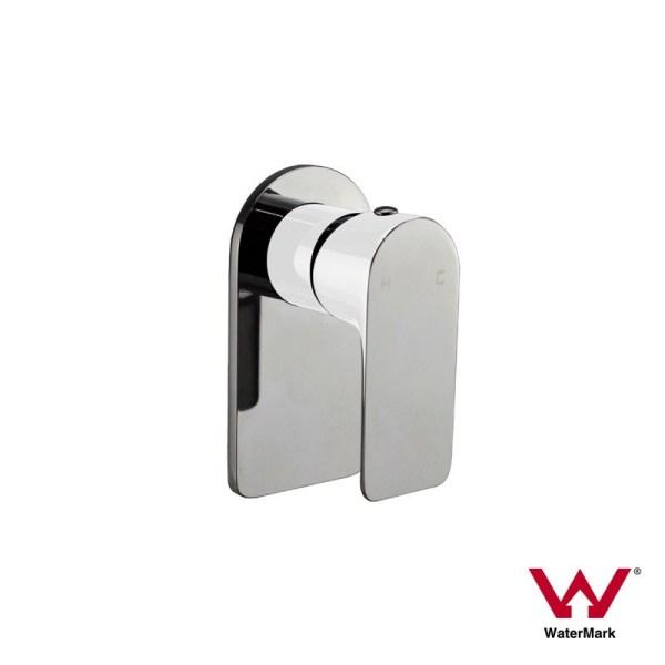 PLUSH-Piano-White-Chrome-Square-Oval-Round-Bathroom-Shower-BathWall-Mixer-252560299755
