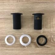 PREMIUM-ELECTROPLATED-Matte-Black-40mm-Pop-Up-BathSink-Plug-Waste-wwo-OVERFLOW-253067002245-3