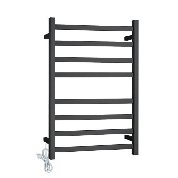 Square-Matte-Black-Heated-Electric-8-Bar-Towel-Rack-Ladder-304-Stainless-Steel-252984062545