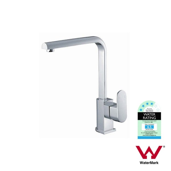 EVA-Polished-Chrome-Round-Oval-High-Rise-Vessel-Basin-Kitchen-Laundry-Sink-Mixer-253115756506