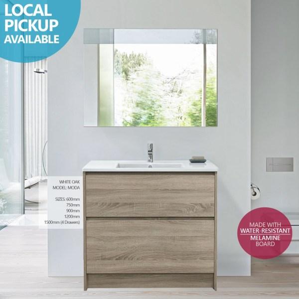 MODA-900mm-White-Oak-Timber-Wood-Grain-FloorFreestanding-Vanity-w-Ceramic-Top-252811139806