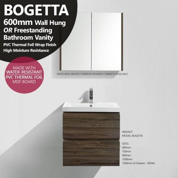 BOGETTA-600mm-Walnut-Oak-PVC-Thermal-Foil-Timber-Wood-Grain-Bathroom-Vanity-252881451347