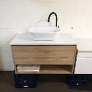 MATTE-BLACK-Gooseneck-Round-Pin-Lever-Bathroom-Kitchen-Laundry-Sink-Basin-Mixer-252594713337-4