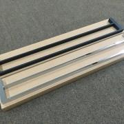 MODERN-Square-700mm-Chrome-Metal-Single-or-Double-Bathroom-Towel-RailRack-252520860917-8