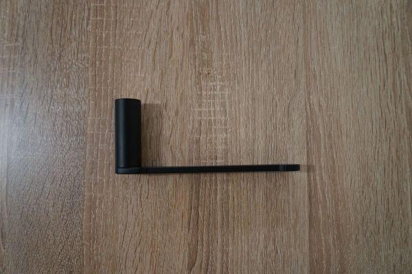 Arq Matte Black Toilet Paper Roll Holder 304