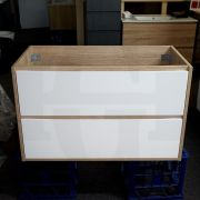 Variation-of-DUO-600mm-White-Oak-Textured-Timber-Wood-Grain-Vanity-with-Gloss-White-Drawers-253263178047-efea