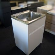 45L-Stainless-Steel-Laundry-TubSink-w-WATERRUST-PROOF-PVC-Soft-Close-Cabinet-252520533118-3