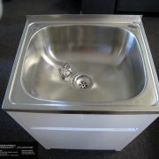 45L-Stainless-Steel-Laundry-TubSink-w-WATERRUST-PROOF-PVC-Soft-Close-Cabinet-252520533118-6