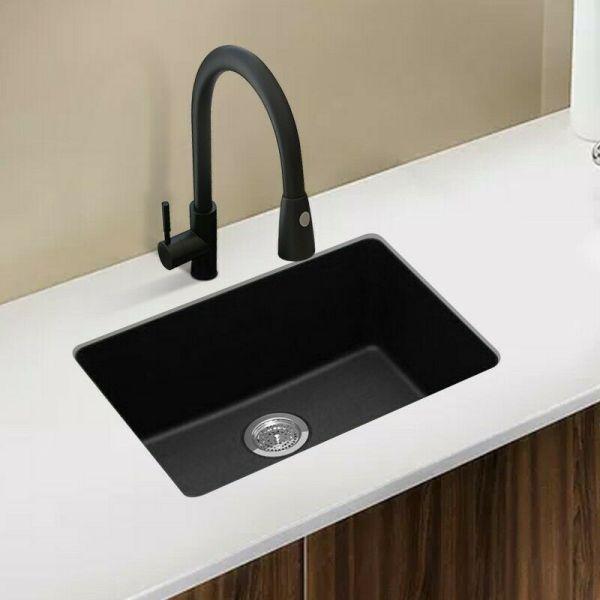 ARTE-STONE-635x470mm-Premium-Black-Quartz-Granite-Single-KitchenLaundry-Sink-254624246188