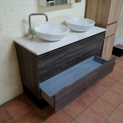 BOGETTA-1200mm-Sonoma-Oak-Grey-PVC-THERMAL-FOIL-Wood-Grain-Double-Vanity-w-Stone-252958600568-6