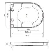 Black-Round-D-Shape-Duraplast-Heavy-Duty-Soft-Close-Quick-Release-Toilet-Seat-252979973208-8