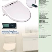 HYUNDAI-HDBR1500-Electric-Water-Saving-Bidet-w-Remote-Control-Toilet-Seat-System-253225124068-2