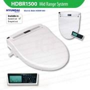 HYUNDAI-HDBR1500-Electric-Water-Saving-Bidet-w-Remote-Control-Toilet-Seat-System-253225124068