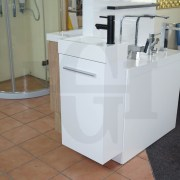 MINI-Compact-400mm-White-Gloss-Polyurethane-Small-Slim-Narrow-Ensuite-Vanity-253261469289-4
