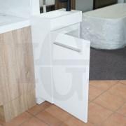 MINI-Compact-400mm-White-Gloss-Polyurethane-Small-Slim-Narrow-Ensuite-Vanity-253261469289-7