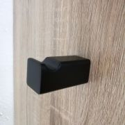 Modern-Square-MATTE-BLACK-Wall-Mount-RobeTowel-Hanger-Hook-Bathroom-Accessories-252660907249-6
