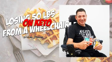 He Lost 50 lbs on KETO From a Wheelchair - Interview with Adam Breman