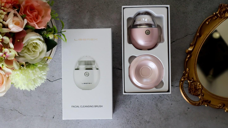 Liberex Egg Vibrating Facial Cleansing Brush contents