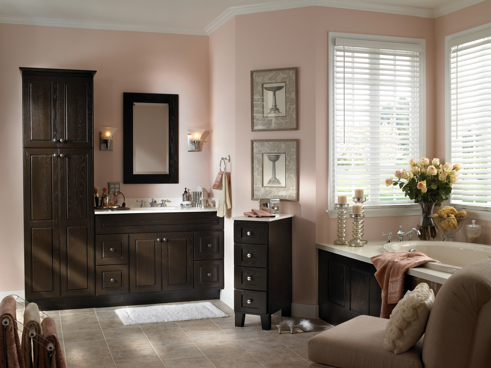 Bathroom Countertops  Adding Elegance and Style to Your Bathroom  RTA Cabinets